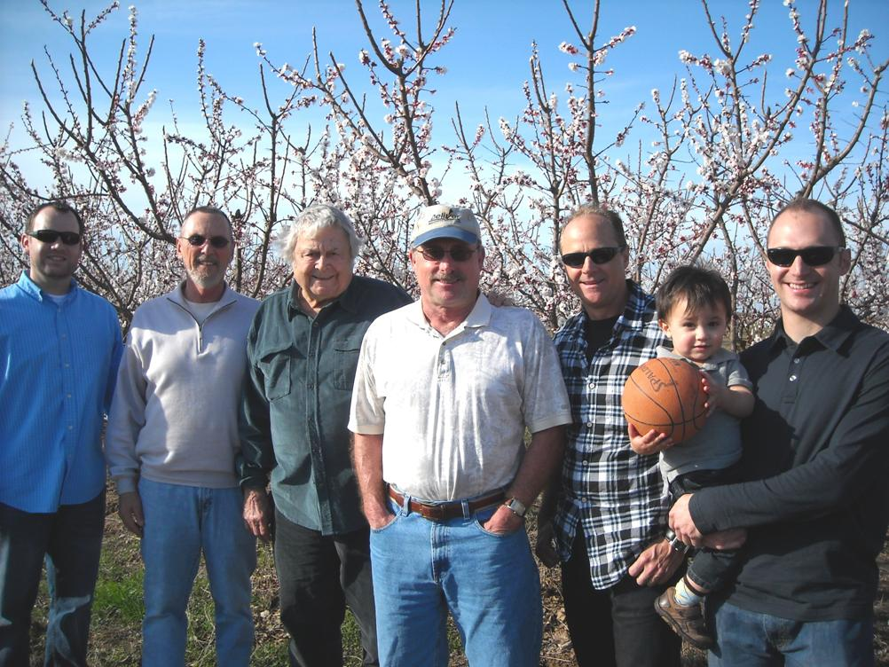 Blossom Hill Apricots Team